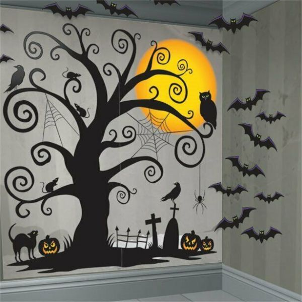 Halloween Creepy Tree Scene Kit - 1.7m